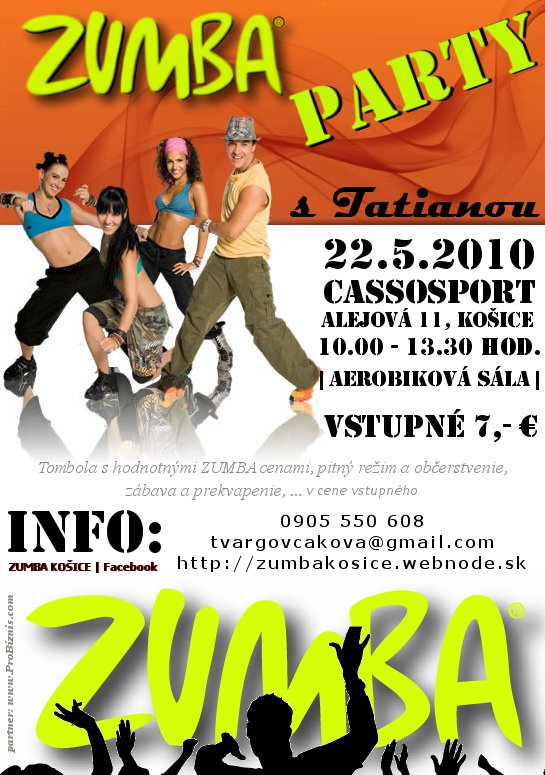 1.Zumba party s Tatianou